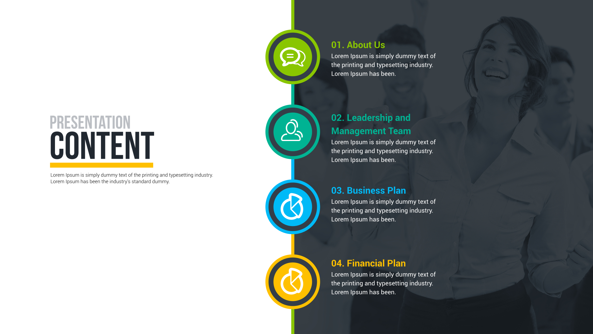 business plan powerpoint presentation free download