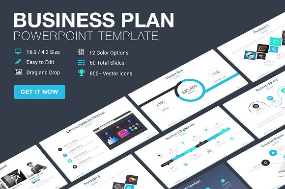 Business Plan Powerpoint Template ~ Presentation Templates