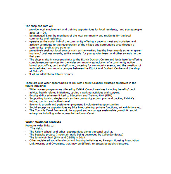 Business Plan Template Uk Free