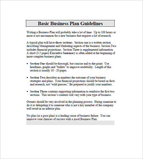 Business Plan Template for Mac 18+ Free Word, Excel, PDF Format
