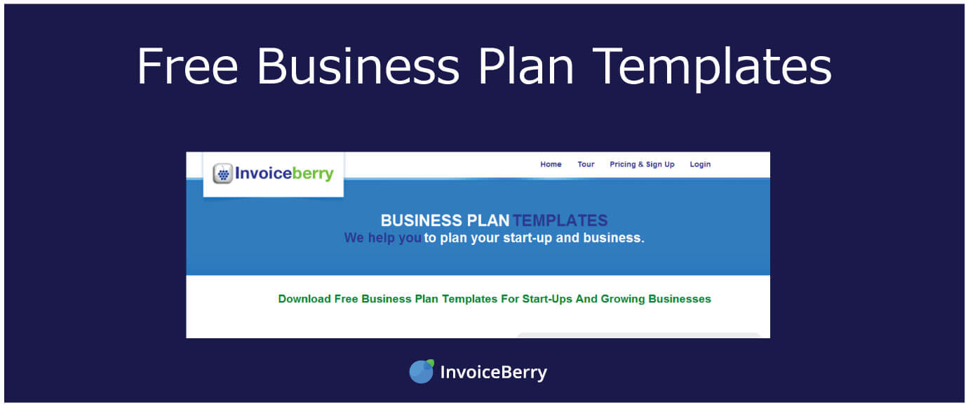Free Business Plan Templates | InvoiceBerry Blog