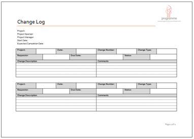 28 Images of Change Management Log Template | leseriail.com