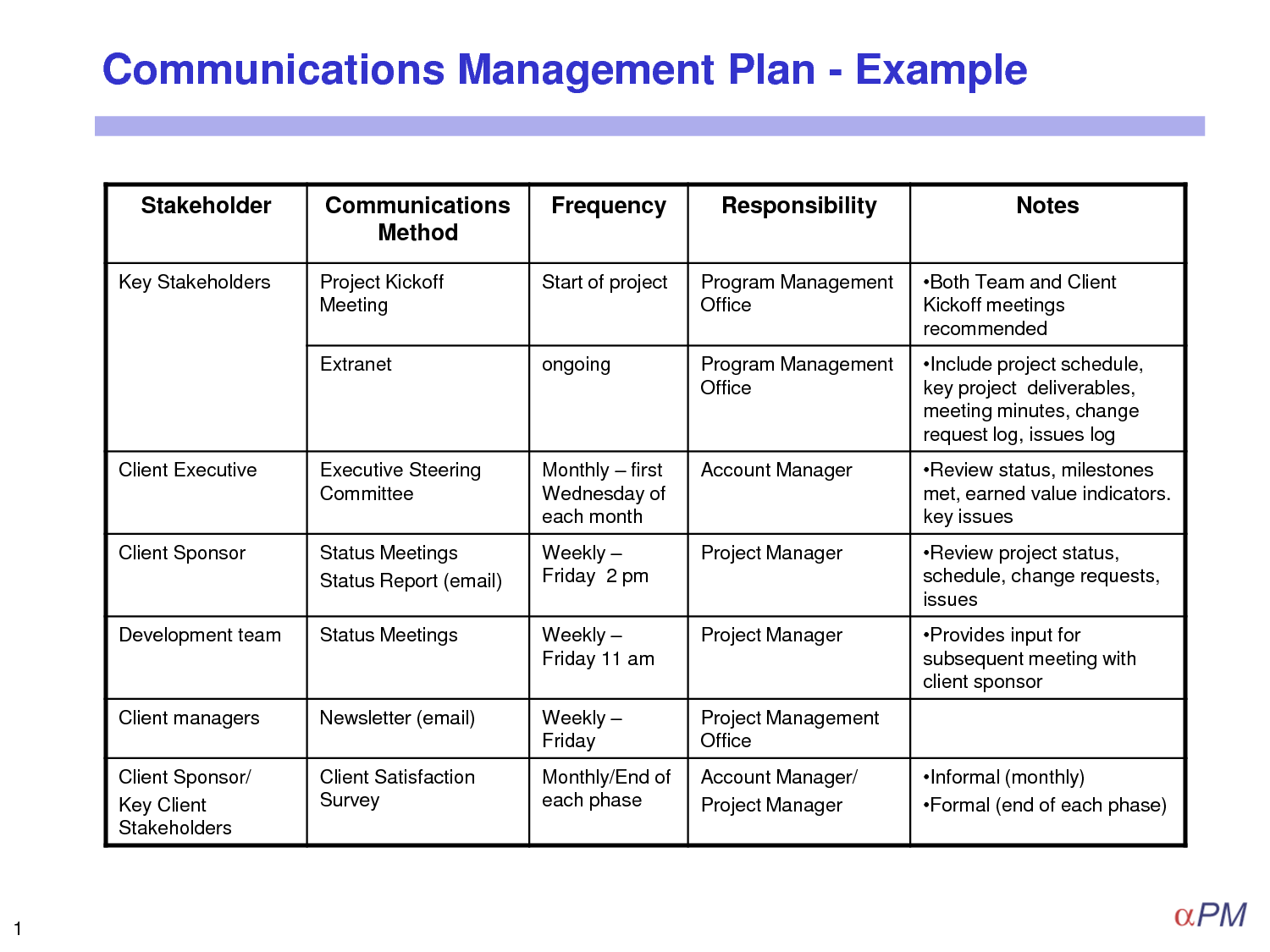 29 Images of Template Communications Management Plan