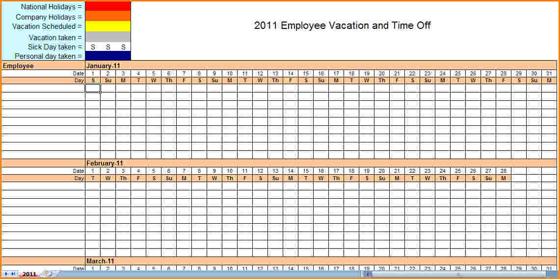 Monthly employee schedule template new illustration blank excel 2