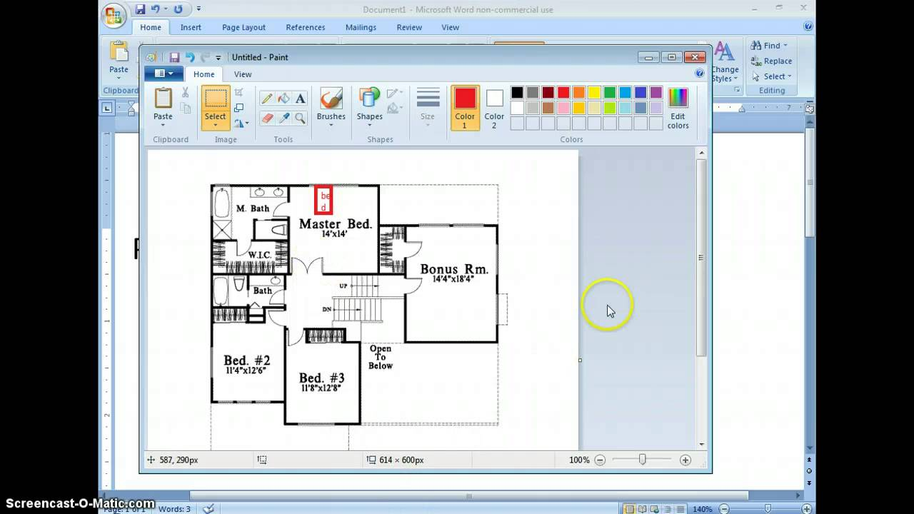 How to make a floor plan for begginers YouTube