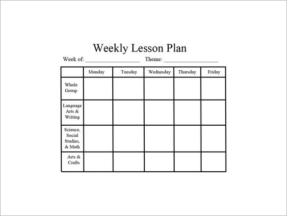 26 Images of Kagan Weekly Lesson Plan Template