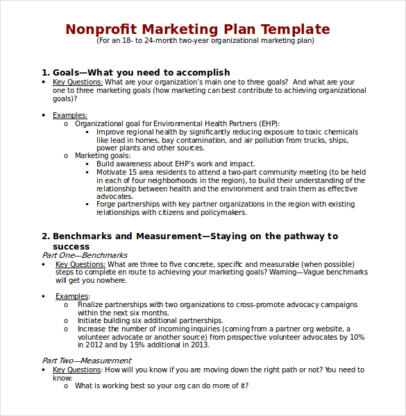 22+ Microsoft Word Marketing Plan Templates | Free & Premium Templates