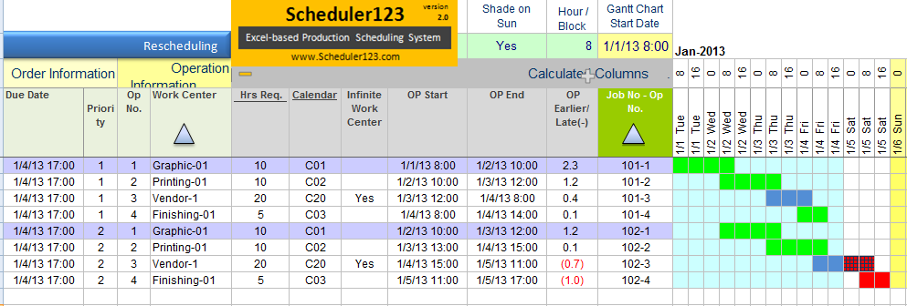 Master Schedule Template Excel Schedule Template Free