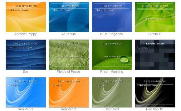 open office presentation backgrounds free openoffice and