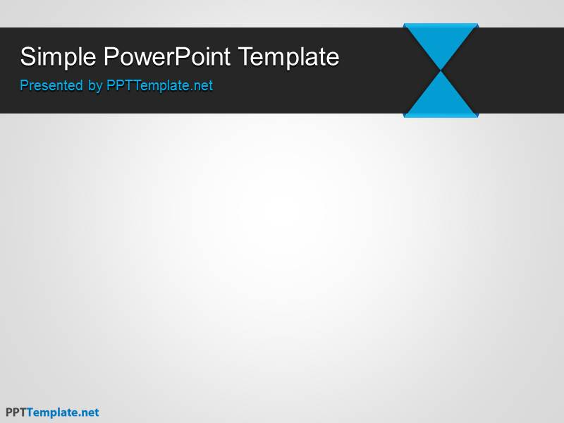 powerpoint template simple free simple ppt template free