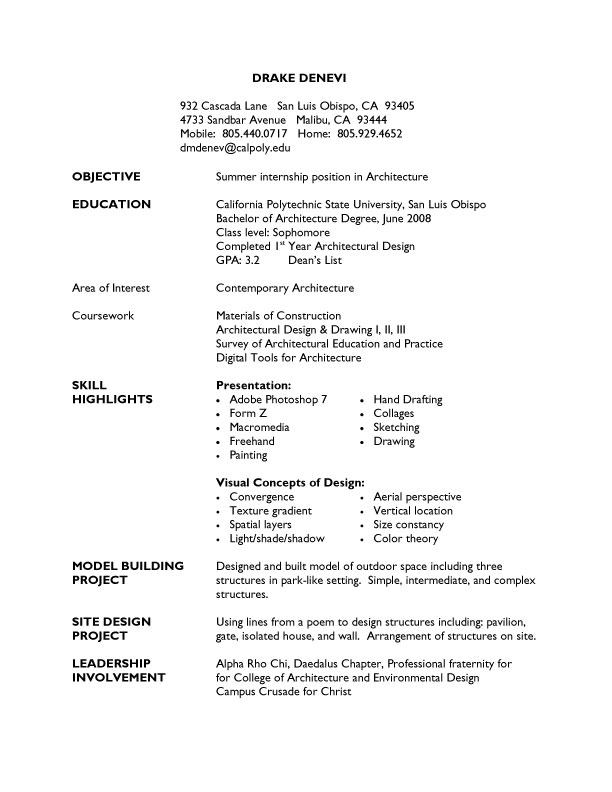 College Graduate Resume Template Cool College Student Resume