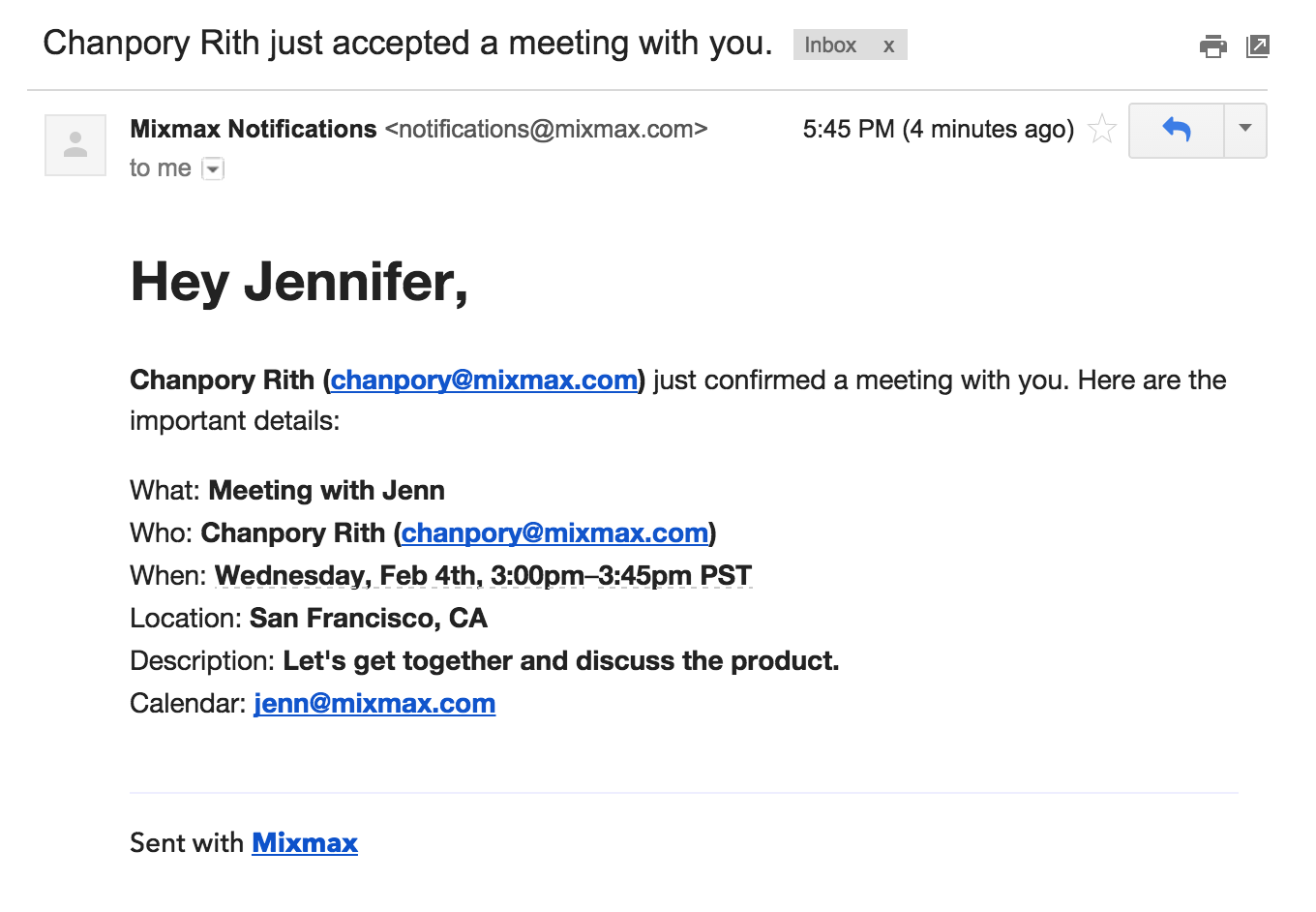 Email To Set Up A Meeting meeting invitation email template