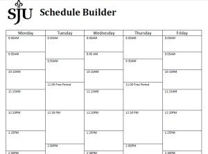 weekly schedule builder Londa.britishcollege.co