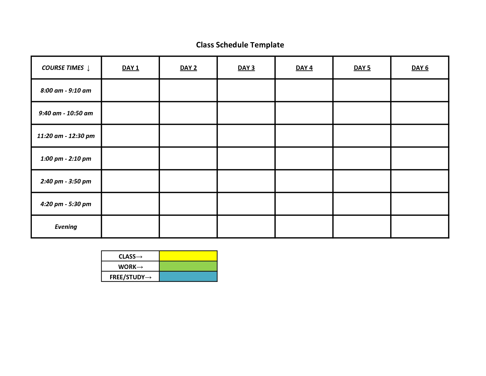availability template Londa.britishcollege.co