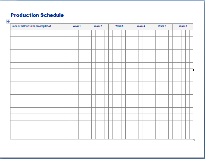 28 Images of Schedule Planning Template | leseriail.com