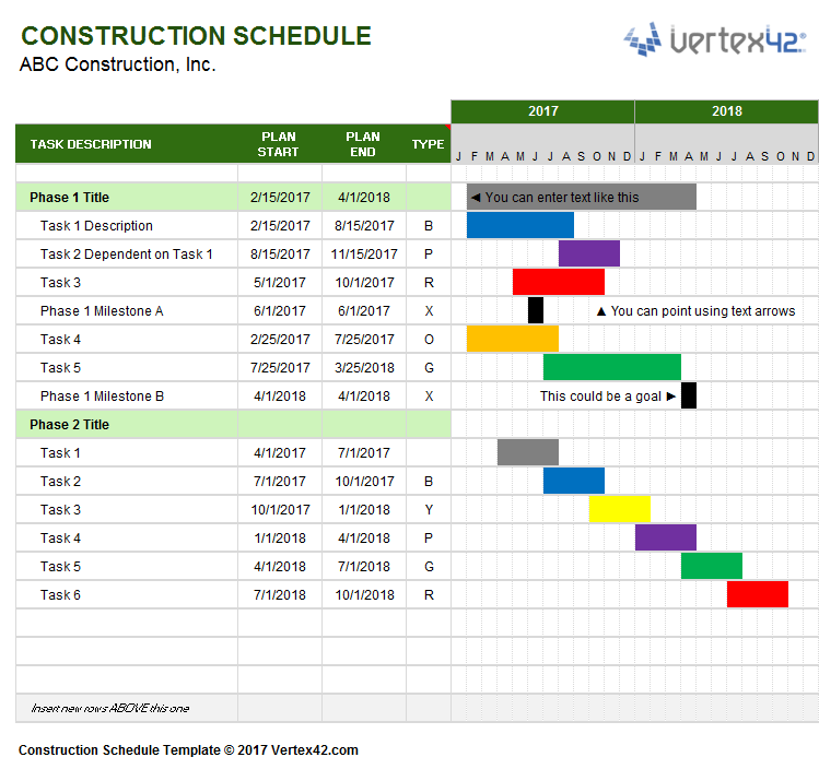 Free Project Management Templates Planning Scheduling Tracking