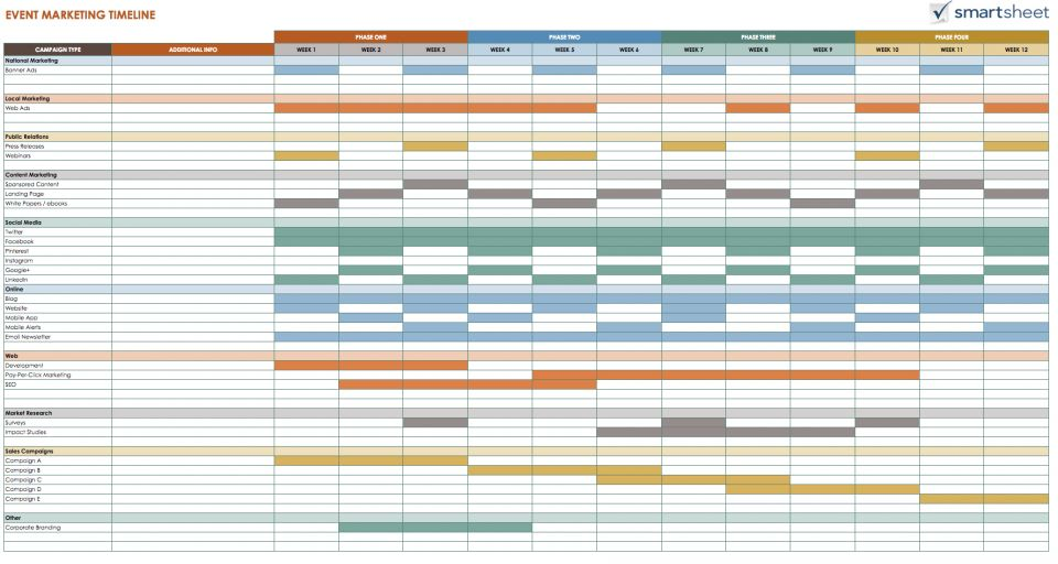 Schedule Template Google Docs