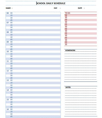 microsoft word schedule template word schedule templates