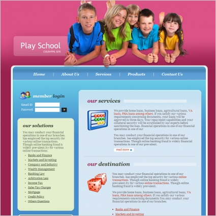 31+ School Website Themes & Templates