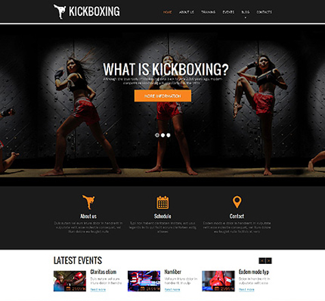 Dynamic Sports Website Templates « TT Blog