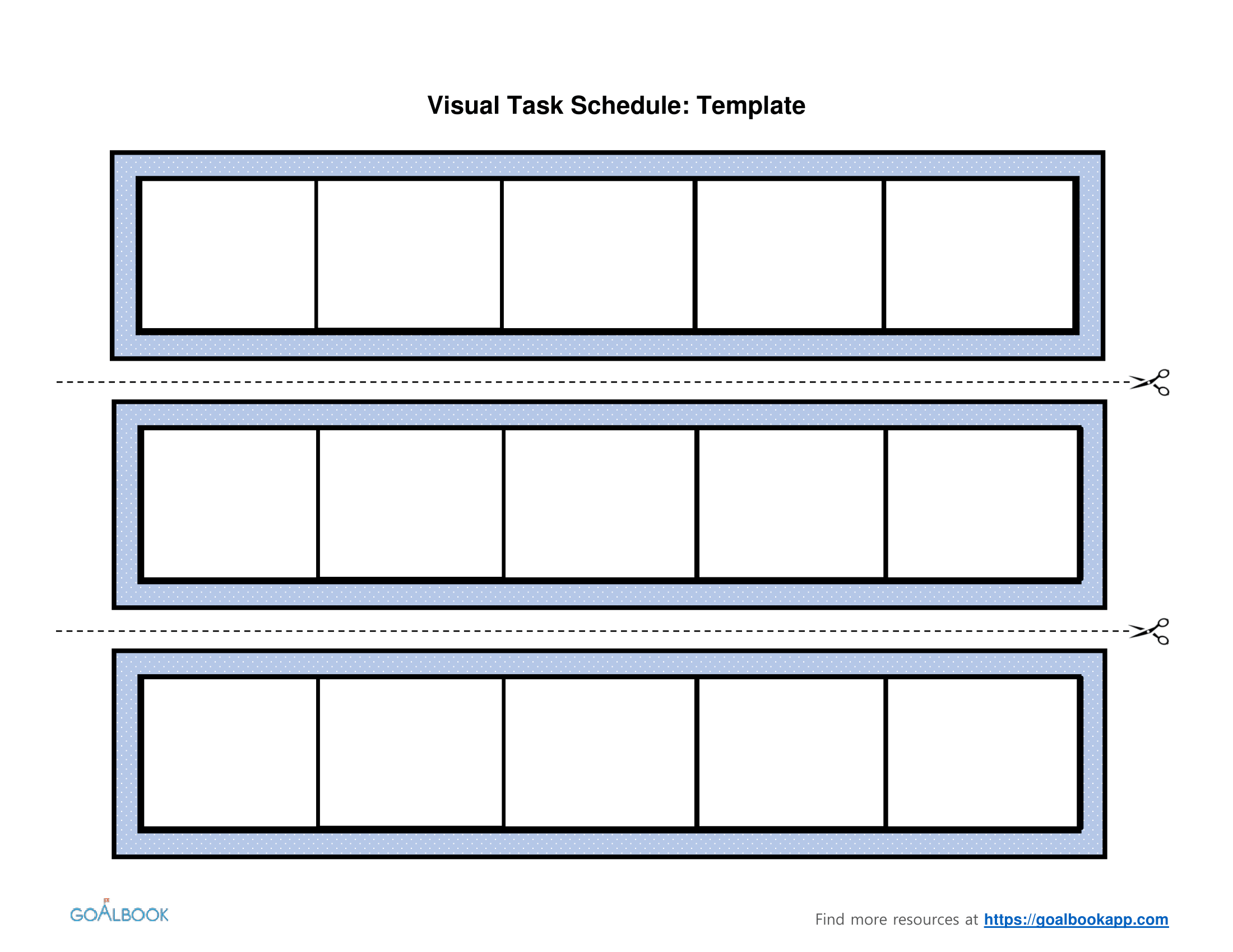 Visual Schedule Template by Speech by Schmitz | Teachers Pay Teachers