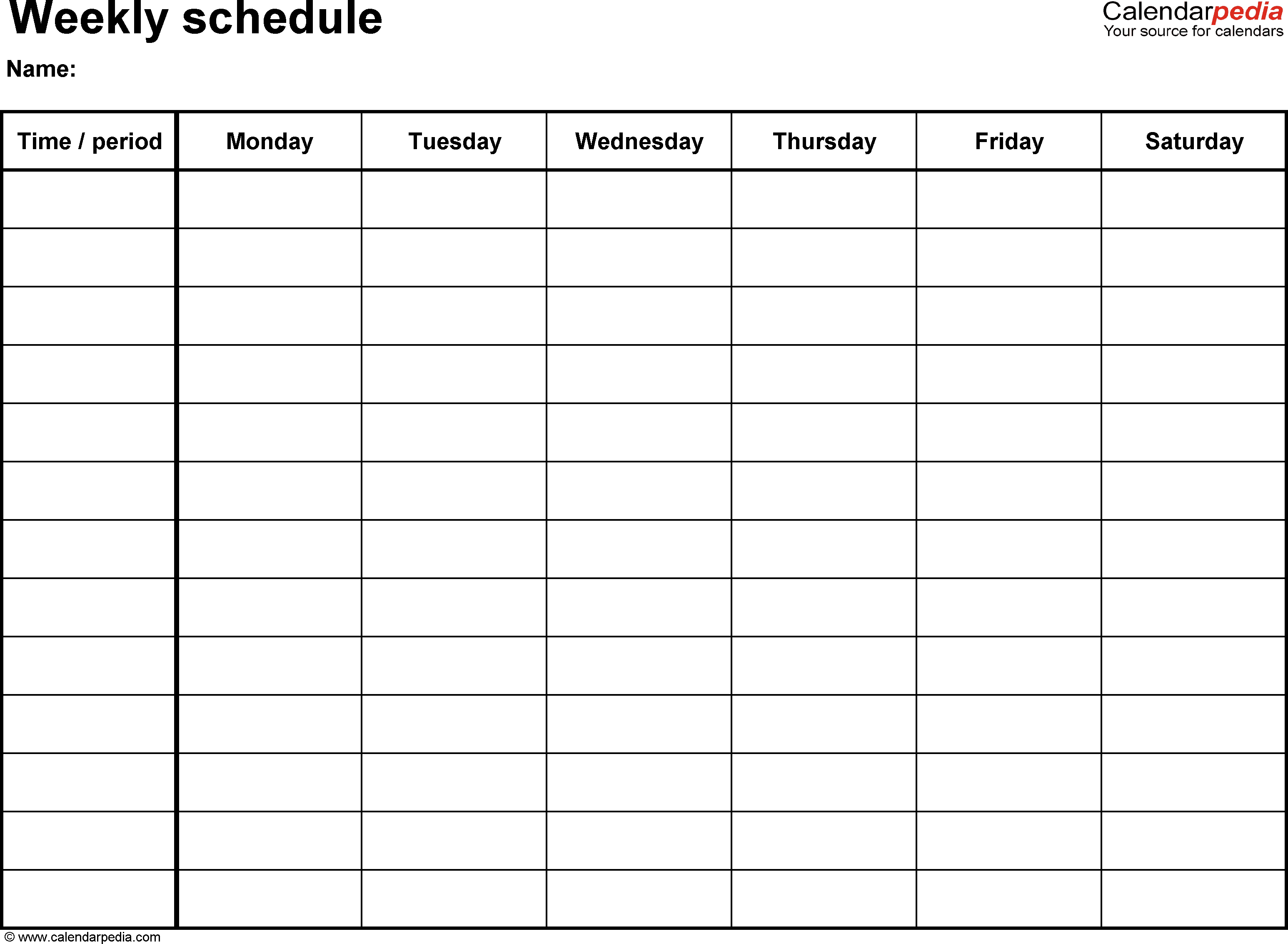 29 Images of Weekly Workout Schedule Template | leseriail.com
