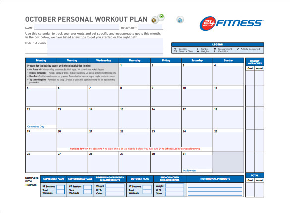 Daily Workout Schedule Template | Jason | Pinterest | Daily